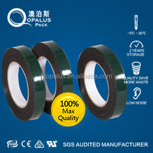 Glue coating enviromental adhesive double side tape for glass