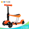 New scooter on china market cheap kids scooter 3 wheel / three wheel scooter foot scooter / child scooter