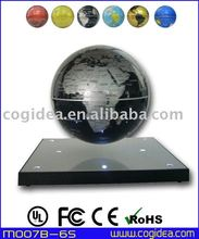 fashion design magnetic floating globe spining globe for home decoration&gift