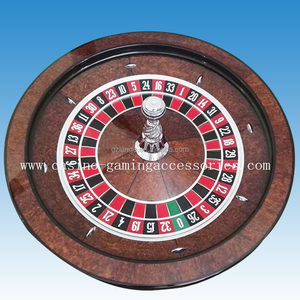 Luxury Casino Gaming Standard Solid Wood 32'' Roulette Wheel