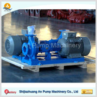 China good quality horizontal back pull out end suction centrifugal pump
