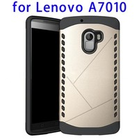TPU and PC Rugged Hybrid Case for Lenovo A7010, Back Case Cover for Lenovo A7010