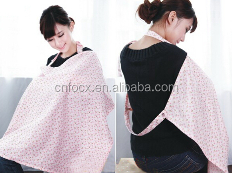 100% Cotton Baby Breast Feeding Nursing Cover / baby nursing cover pattern / baby feeder cover