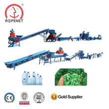 PET maker plastic cleaning recycling production line