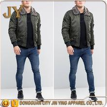 Brand new woodland winter men jacket winter jacket men 2016 jean jacket with leather sleeves for men with great price