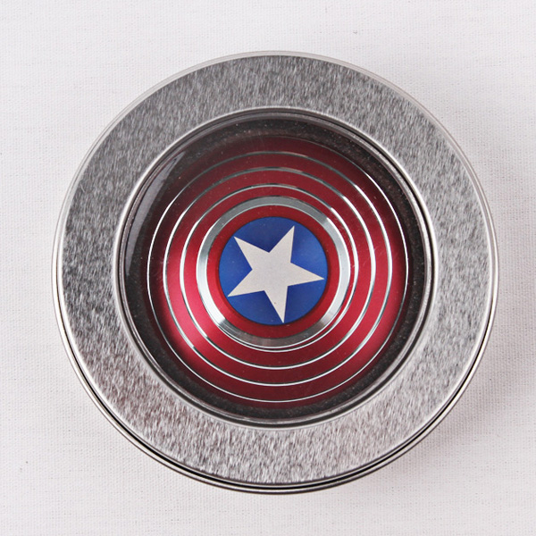 Made in China Red Blue Black Green batman spinner Captain America finger spinner best price for wholesales with CE