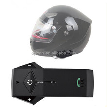 Motorcycle Bike Helmet Bluetooth Intercom with NFC Remote Control FM Radio 1000m Up to 2 Riders
