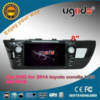 ugode Car Stereo gps player 2015 Toyota Corolla SUV cars right left hand drive