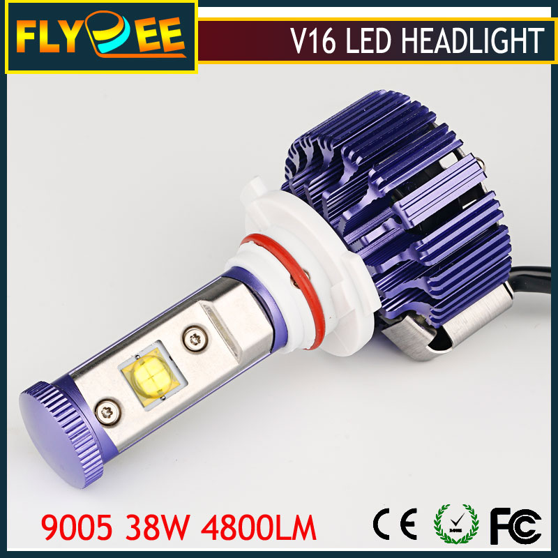 2016 New v16 Turbo 80W Car LED Crees 9600LM H1 H3 H7 H4 880 881 hb3 hb4 H13 9005 9006 9004 9007 H8 H11