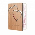 i love you wood bamboo wholesale greeting cards custom wedding invitations greeting cards