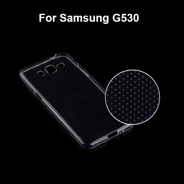 GP5301 Factory Wholesale 0.6mm Transparent Case for Samsung Galaxy Grand Prime G530 , Soft TPU Cover for Samsung G530