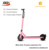 8inch electric scooter AF series adult 2 wheels alloy folding scooter lithium powered