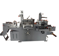 semi automatic full auto die cutting machine paper die cutting machine (punching, hot-stamping ,laminating function)