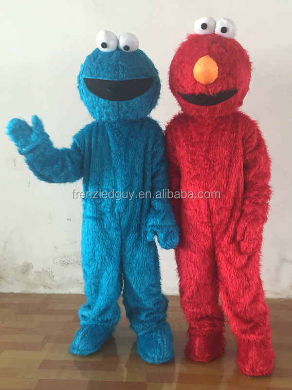 cartoon cookie monster mascot costume FGC-0048