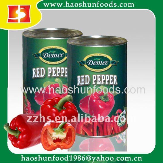 Canned Red Chili half Canned Vegetable Canned Food
