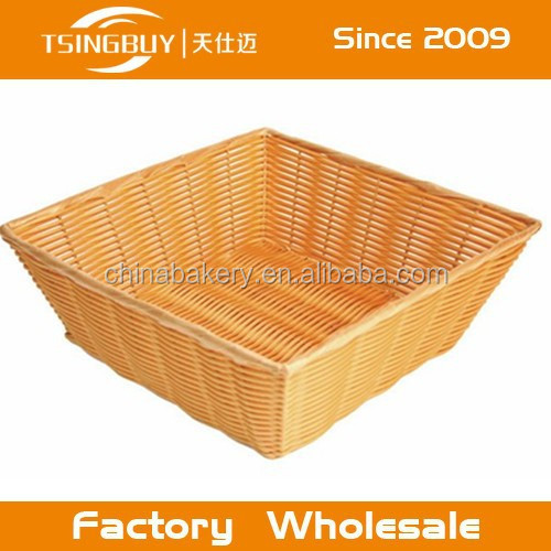 China factory direct wholesale Bread displaying customized size handmade wine basket