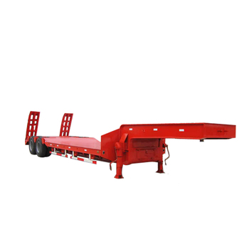 Tri-axle Low Flat Bed Semi Trailer For Sale new semi trailer price