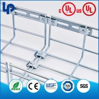 Move Easily Add Flexibly Stainless Steel Material Basket Tray , Basket cable Tray