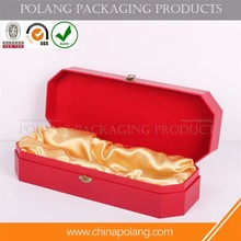 High-end china factory White wine wooden box Packaging red wine box packing
