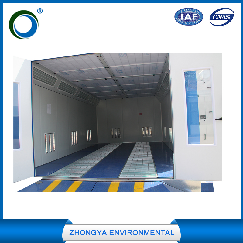 high quality exhaust system spray painting booth blower