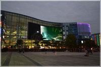 High Quality Low price indoor and outdoor full color flexible advertising P6 P8 P10 led display screen billboard