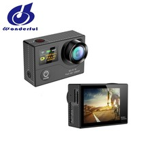 30m underwater camera with170 degrees Wide Angle and Go pro waterproof digital camera with WiFi