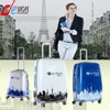 Abs Pc Plastic Suitcase Trolley