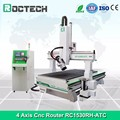 CNC Router 4 axis woodworking cnc kit machine 1325 1530