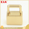 Special design garment accessories gold metal bell stopper and cord end