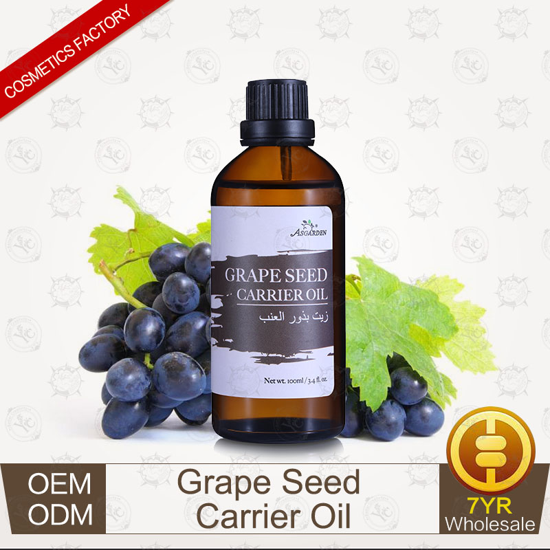 100% Pure Plants Extracts Grape Seed Carrier Oil OEM/ODM Professional Supplier