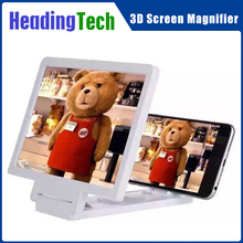 2015 Hot Selling Products 3 Times Mobile Phone Screen Magnifier 3D Cell Phone Screen Magnifier Phone Enlarged Screen