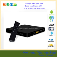 Android 5.1 Amlogic S905 4K HD2.0 Output 1G 8G Lots of Free Movies TV Box