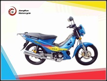 Two wheels and Single-cylinder 110cc Shemale motorcycle / cub motorcycle on sale