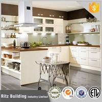 Modern mdf modular kitchen cabinet /New design ply wood kichen cabinet