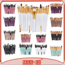 New 20 pcs/set make up brushes beauty supplies for professionals makeup tools