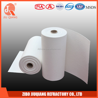 Glass industry fusing high alumina 1360 refractory ceramic kiln fiber paper
