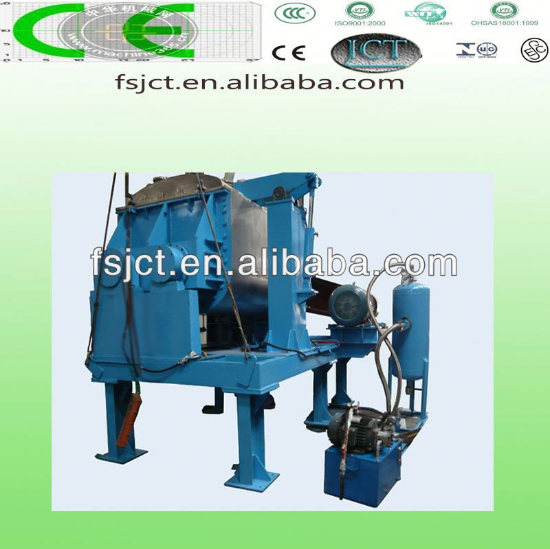 high quality and multi functional kneader making machine used for rubber foam shoe sole sheet NHZ-500L