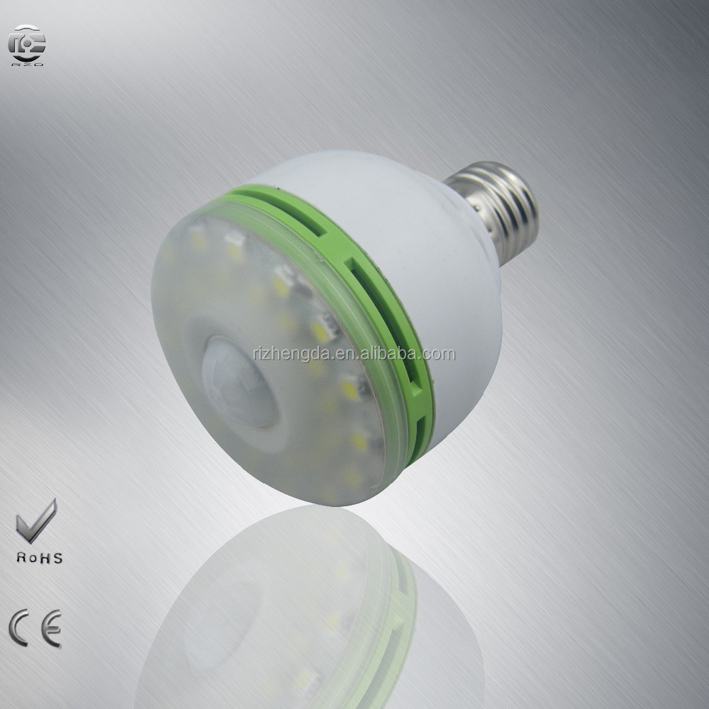 LED ceiling bulbs PIR motion detector approved