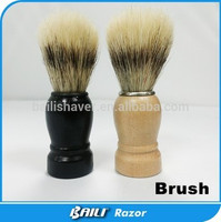 Badger Hair Manual Shaving Brush With Wood Handle