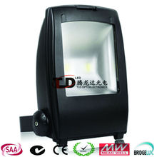 IP65 Bridgelux 100W high power CE ROHS SAA outdoor led flood light for sport court/toll gate