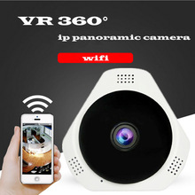 Mini Ceiling Mounting 1.3MP 960P HD V380 Panoramic Camera Wifi VR 360 Wireless For Smart Phone Support SD Memory Card