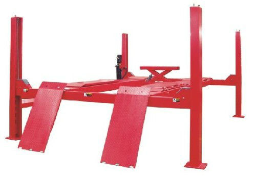High effciency LAUNCH TLT440W four post manual car lift cheap