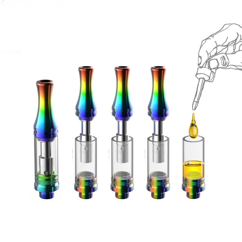 Disposable Vaporizer Cartridge Empty Ceramic Atomizer Tank Cbd Cartridge Vape Pen Oil Cbd Oil E Pen