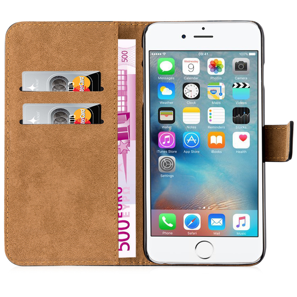Flip Wallet Leather Case with Stand Function For Apple iPhone 6, For iPhone 6 Case