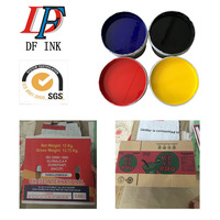 water proof fastness flexo printing water based carton box ink