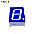 ROHS Approved 1 digit 1 inch LED Display KHN11001AB1D-1 Blue color 460~465nm 1 inch LED Digit Display