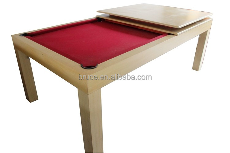 Hot sell used dining folding pool table and dinner table combo 8tf TH-402