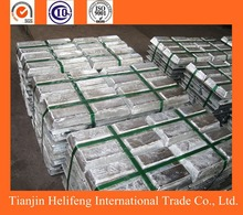 Raw metal ore pure zinc plate