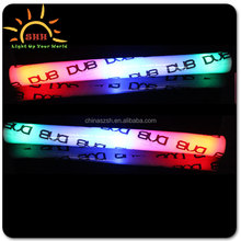 Light-Up Foam Sticks LED Rave Cheer Tube Rally Soft Glow Baton Wand For Wedding Party foam party sticks glow foam stick