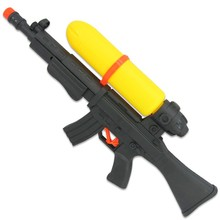 ABS cheap toys 49cm super soaker war power AK47 water gun for running man